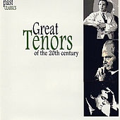 Play & Download Great Tenors Of The 20th Century by Various Artists | Napster