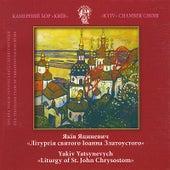 Play & Download Yakiv Yatsynevych. Liturgy of St.John Chrysostom by Kyiv Chamber Choir | Napster