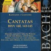Bach: Cantatas BWV 140, 143-145 by Helmuth Rilling