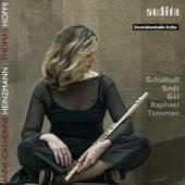 Play & Download Werke für Flöte und Klavier von Schulhoff, Smit, Gál, Raphael & Tansman by Anne-Cathérine Heinzmann | Napster