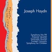 Haydn: Symphony No.94 in G major: Surprise, Emporer Quartet, Serenade Quartet, Trumpet Concerto, Symphony For Children by Various Artists