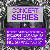 Play & Download Concert Series: Mozart - Concertos for Piano and Orchestra No. 20 and No. 24 by Berlin Symphony Orchestra | Napster