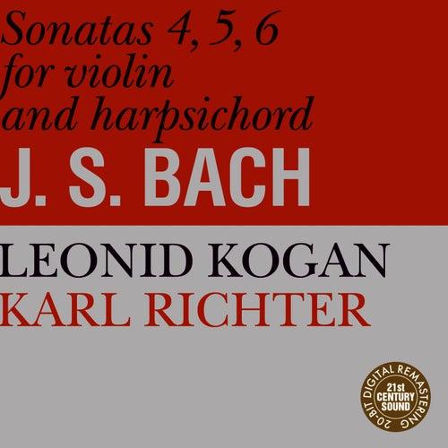 Bach: Sonatas for Violin and Harpsichord No. 4-6 by Leonid Kogan