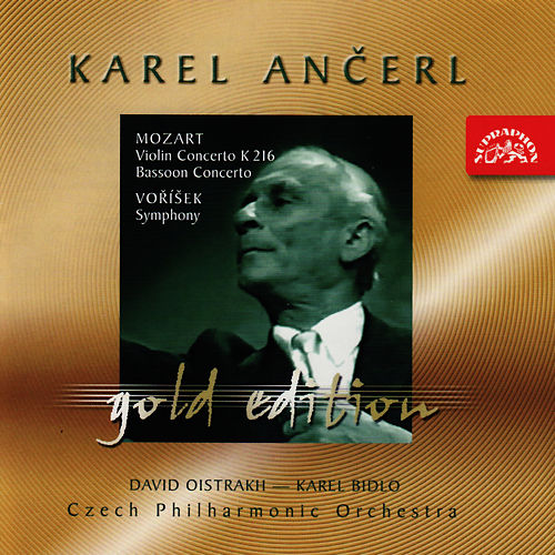 Ančerl Gold 18 Mozart: Concertos/Voříšek: Symphony in D major by Czech Philharmonic Orchestra