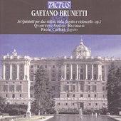 Brunetti: Sei Quintetti - Op. 2 by Quartetto Sandro Materassi