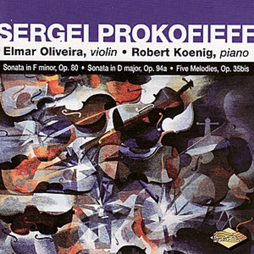 Play & Download PROKOFIEF: Violin Sonata in F minor / Violin Sonata in D major / 5 Melodies by Robert Koenig | Napster