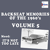 Backseat Memories Vol. 5 by Various Artists
