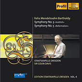 Play & Download Mendelssohn: Symphonies Nos. 3 & 5 by Staatskapelle Dresden | Napster
