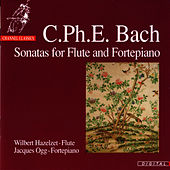 C.P.E. Bach: Sonatas for Flute and Fortepiano by Wilbert Hazelzet