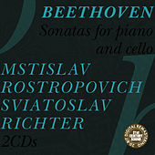 Beethoven: Sonatas for Cello and Piano by Mstislav Rostropovich