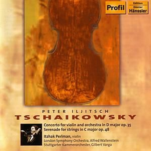 Concerto for violin and orchestra in D major op. 35 by London Symphony Orchestra