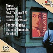 MOZART: Symphonies Nos. 5 and 29 / Serenades Nos. 6 and 13 by Marco Boni