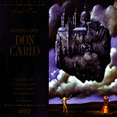 Verdi: Don Carlo / Live Performance, Vienna, October 25, 1970 by Vienna Philharmonic Orchestra