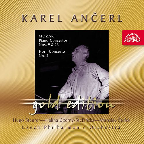 Play & Download Ančerl Gold 38 Mozart: Piano Concertos Nos. 9 & 23, Horn Concerto No. 3 by Karel Ančerl | Napster