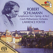 SCHUMANN, R.: Symphonies Nos. 1, 2 (Foster) by Lawrence Foster