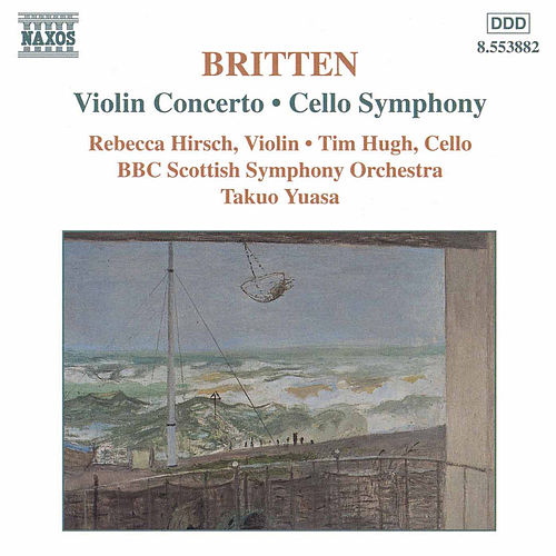 Violin Concerto / Cello Symphony by Benjamin Britten