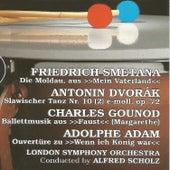 Friedrich Smetana, Antonin Dvorák, Charles Gounod, Adolphe Adam by London Symphony Orchestra