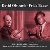 Paul Hindemith: Violin Concerto - Bohuslav Martinů: Sonata For Violin And Piano No. 3, H 303 by Various Artists