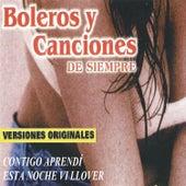 Play & Download Boleros y Canciones de Siempre by Various Artists | Napster