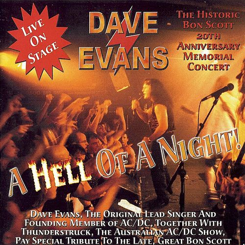 Play & Download A Hell Of Night by Dave Evans | Napster