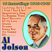 16 Recordings 1946-1949 by Al Jolson
