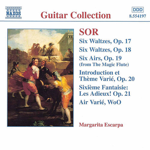 Play & Download Guitar Music Opp. 17 - 21 by Fernando Sor   Napster