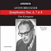 Bruckner: Symphonies Nos. 4, 7 & 8 by Various Artists