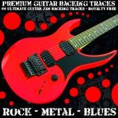 66 Ultimate Guitar Jam Backing Tracks (Rock Metal Blues) [Royalty Free] by Premium Guitar Backing Tracks
