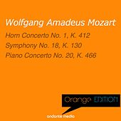 Orange Edition - Mozart: Horn Concerto No. 1, K. 412 & Piano Concerto No. 20, K. 466 by Various Artists
