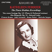 The Finest Brahms Recordings (Remastered) by Kathleen Ferrier