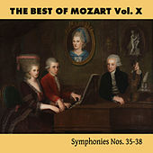 Play & Download The Best of Mozart Vol. X, Symphonies Nos. 35-38 by Mozart Festival Orchestra | Napster