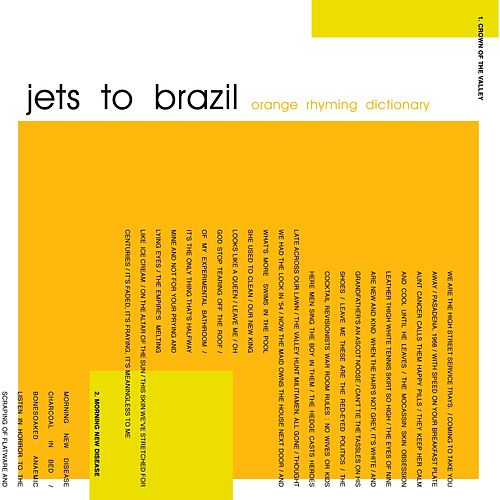 Orange Rhyming Dictionary by Jets to Brazil