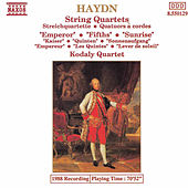Play & Download String Quartets: Emporer / Fifths / Sunrise by Franz Joseph Haydn | Napster