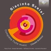 Scelsi: Complete Flute Music by Claudia Giottoli, Raffaele D'Aniello, Paolo Puliti, Natalia Benedetti