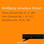 Orange Edition - Mozart: Piano Concerto No. 21, K. 467 & Symphony No. 18, K. 130 by Various Artists