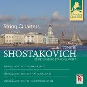 String Quartets Nos. 3, 5, 7 by St. Petersburg String Quartet
