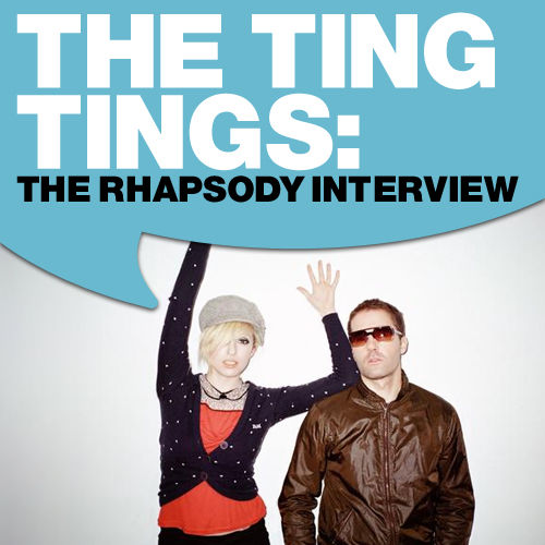 The Ting Tings: The Rhapsody Interview by The Ting Tings