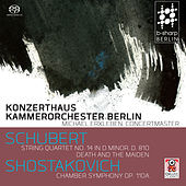 Play & Download String Quartet No. 14 in D Minor, D. 810 / Chamber Symphony Op. 110a by Konzerthaus Kammerorchester Berlin | Napster