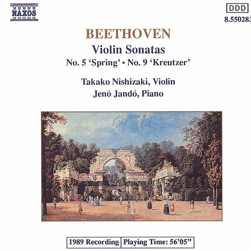 Play & Download 'Spring' and 'Kreutzer' Sonatas by Ludwig van Beethoven | Napster