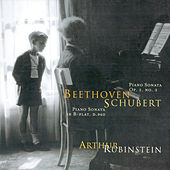 Play & Download Rubinstein Collection, Vol. 55: Beethoven: Sonata, Op. 2/3; Schubert: Sonata, Op. posth. by Arthur Rubinstein | Napster