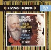 Play & Download Brahms; Tchaikovsky: Violin Concertos by Jascha Heifetz | Napster