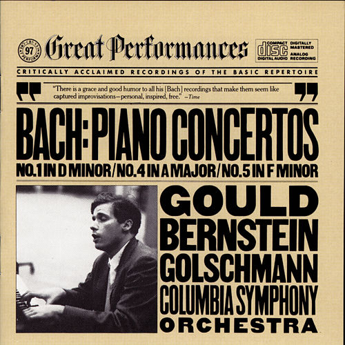 Play & Download J. S. Bach: Keyboard Concertos Nos. 1, 4 & 5 by Columbia Symphony Orchestra | Napster