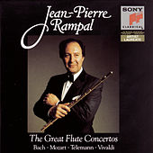 Bach/Mozart/Telemann/Vivaldi: The Great Flute Concertos by Various Artists