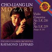 Mozart: Violin Concertos, K.216 & 219; Adagio in E Major, K. 261 by Raymond Leppard