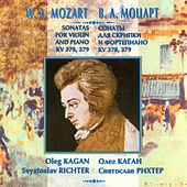 Mozart: Sonatas for Violin & Piano, K. 378 & 379 by Oleg Kagan