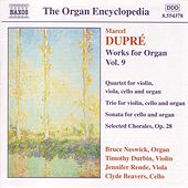 Works for Organ Vol. 9 by Marcel Dupre