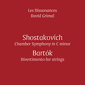 Play & Download Shostakovich & Bartók (Live) by Les Dissonances and David Grimal | Napster