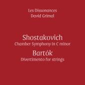 Shostakovich & Bartók (Live) by Les Dissonances and David Grimal
