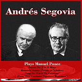 Plays Manuel Ponce: Sonata No. 3 In D Minor - Romantic Sonata (Tribute to Schubert) - Song No. 3 in E