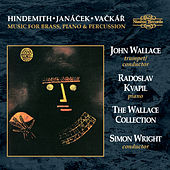 Hindemith, Janáček & Vačkář: Music for Brass, Piano & Percussion by Various Artists